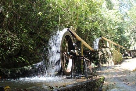 Rodas d'àgua Parque Maeda